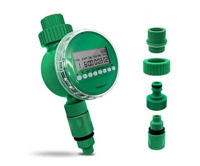 Pinolex® Drip Irrigation Automatic Water Controller Timer for Garden Lawn Apartment